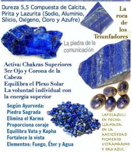 Piedra Natural de Lapislazuli